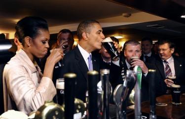 Obamaguinnessireland